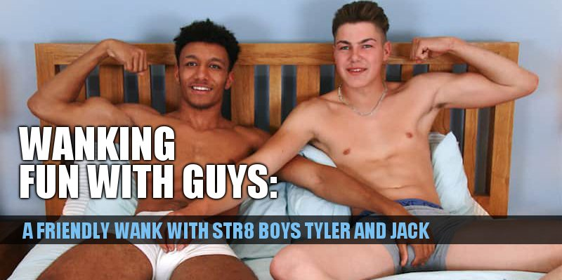 click for more of two straight boys wanking together